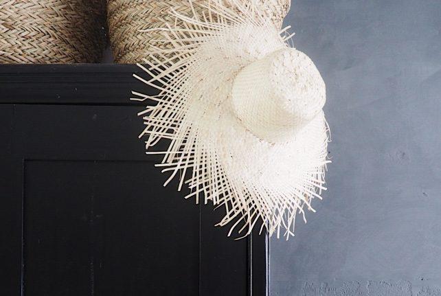 Palmhoed naturel
