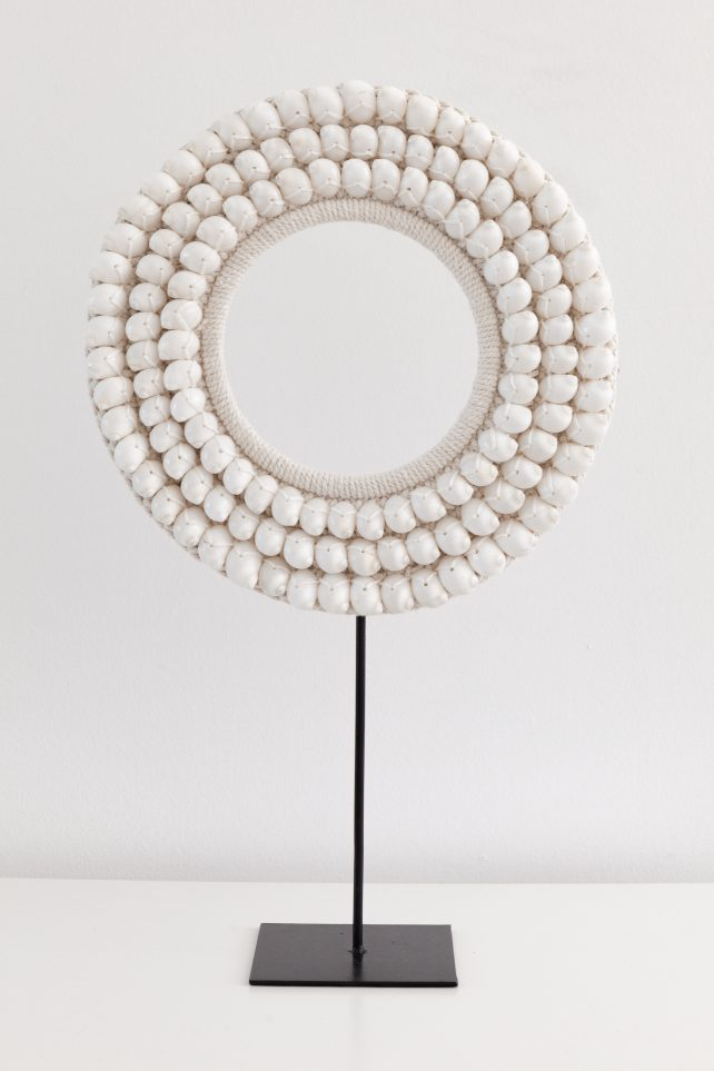 Schelpencirkel wit
