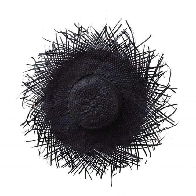 Palmhoed zwart