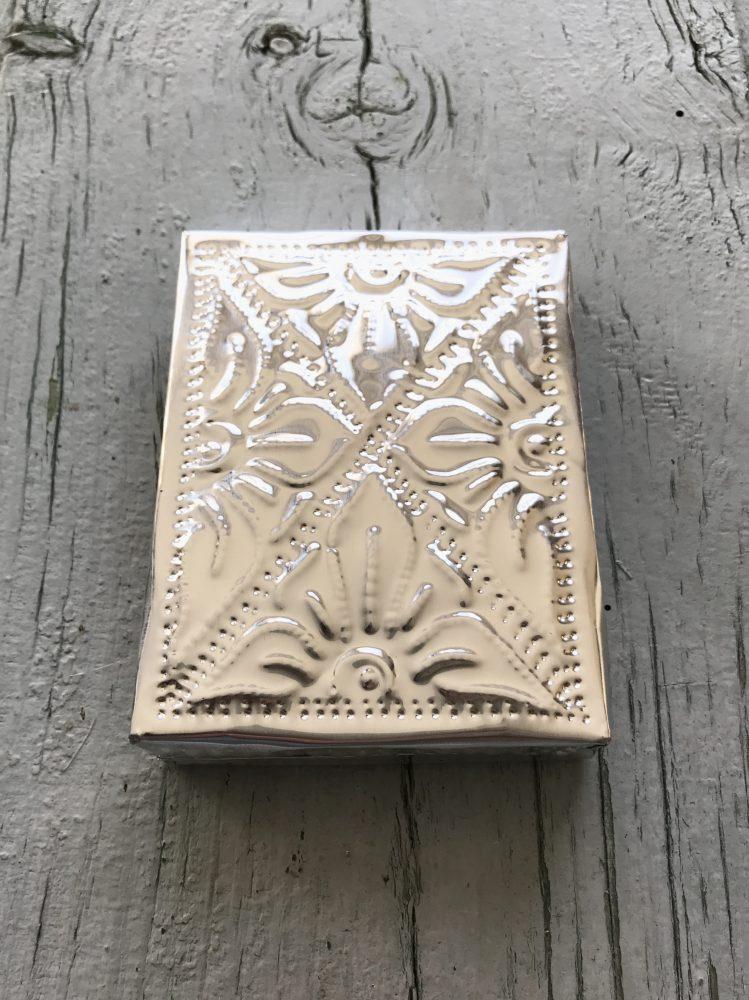 Aluminium doosje plat small