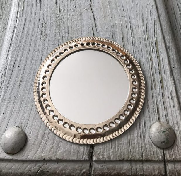Spiegel Bewerkt Zilver L