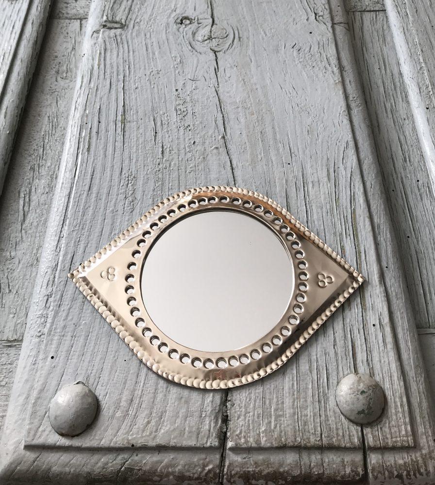 Marokkaanse Spiegel Zilverkleurig Large