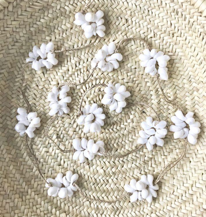 Schelpensliert bolletje wit