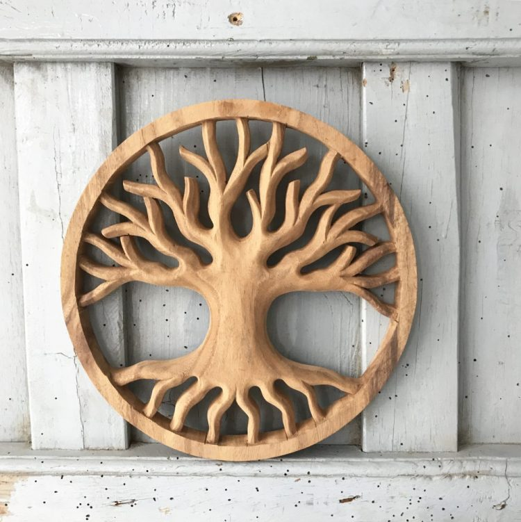 Woodcarving Tree Of Life