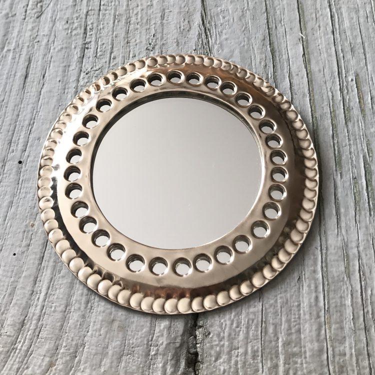 Marokkaanse Spiegeltjes Zilverkleurig Medium