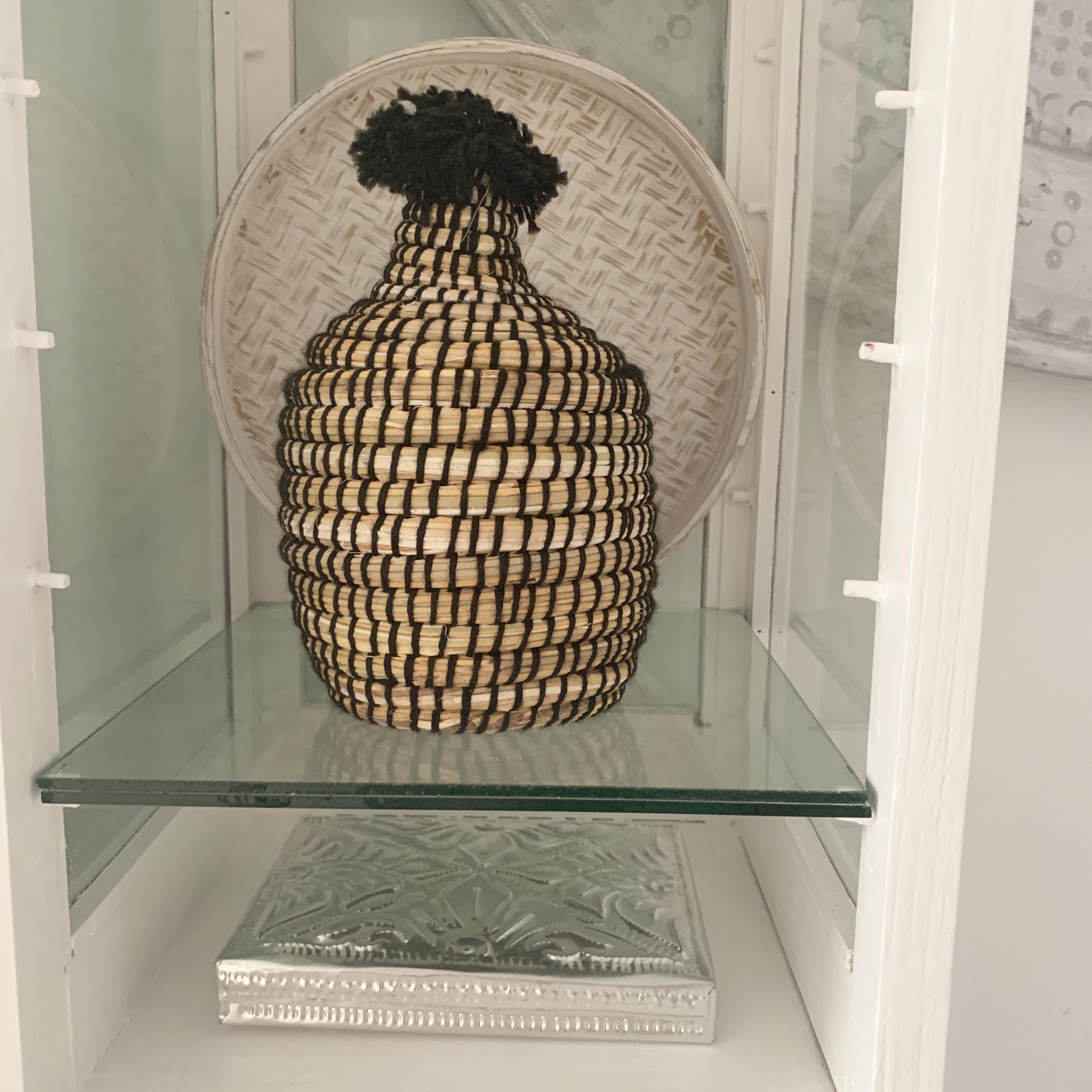 Berber Basket Zwart