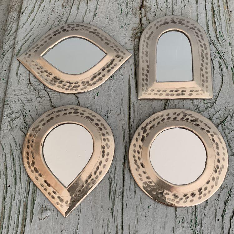 Marokkaanse Spiegeltjes Zilverkleurig