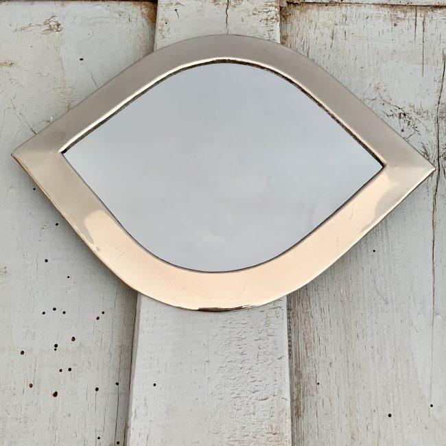 Spiegel zilver oog