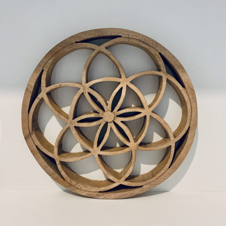 Woodcarving Flower Of Life